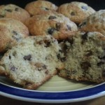 Blueberry and Chocolate Chip Muffins