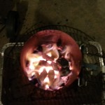 I use a fire starter to light my charcoal,