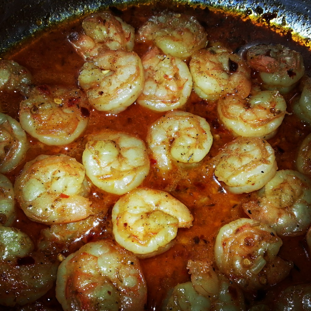 Spicy Shrimp and Beer Scampi Sauce