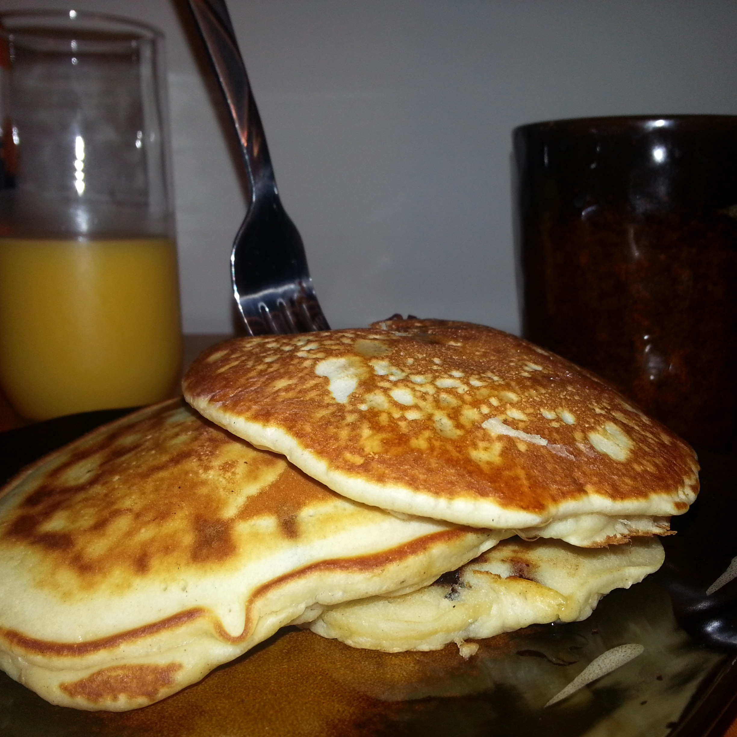 Old Fashioned Pancakes - MuffinsandMeat