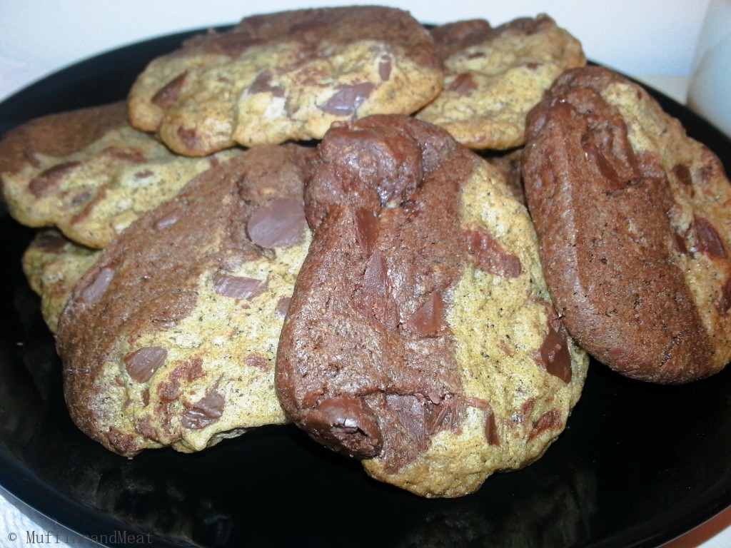 Espresso and Dark Chocolate Cookies