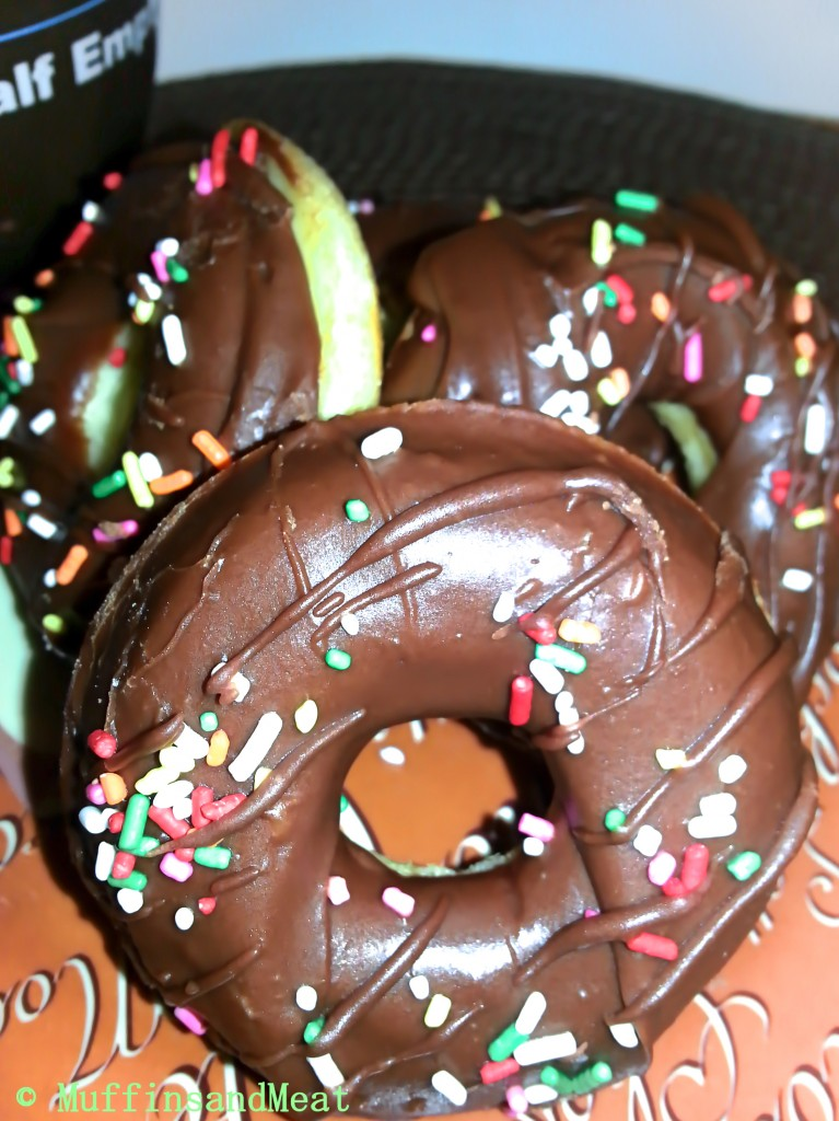 Chocolate Frosted Doughnuts