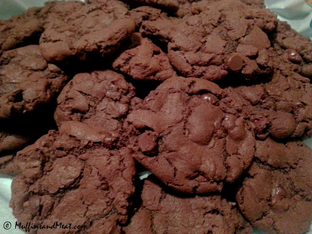 Double Chocolate Chip Cookies ~ DELICIOUS!