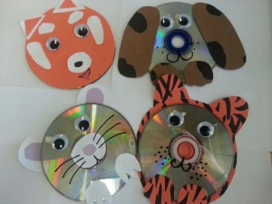 """Paws for Animal CD's"" Fun Craft for kids!"