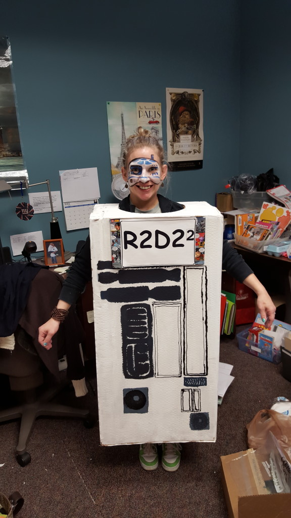 Get it, R2D2 SQUARED!