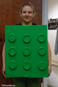 This year I went as a large Duplo (can't use LEGO)